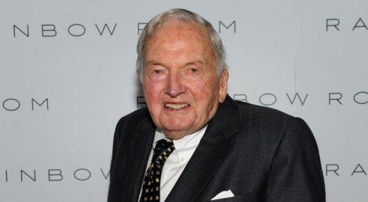 Миллиардер Дэвид Рокфеллер умер на 102-м году жизни