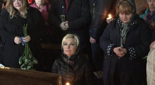 В Киеве хоронят беглого депутата, которого расстреляли средь бела дня