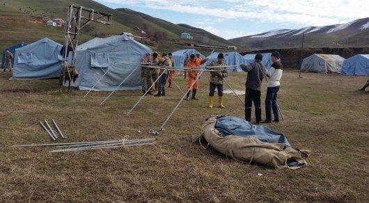 Целая семья с детьми погибла под оползнем в Кыргызстане