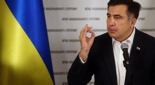 Саакашвили будет вести ток-шоу на украинском канале