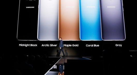 Samsung презентовала новый смартфон Galaxy S8