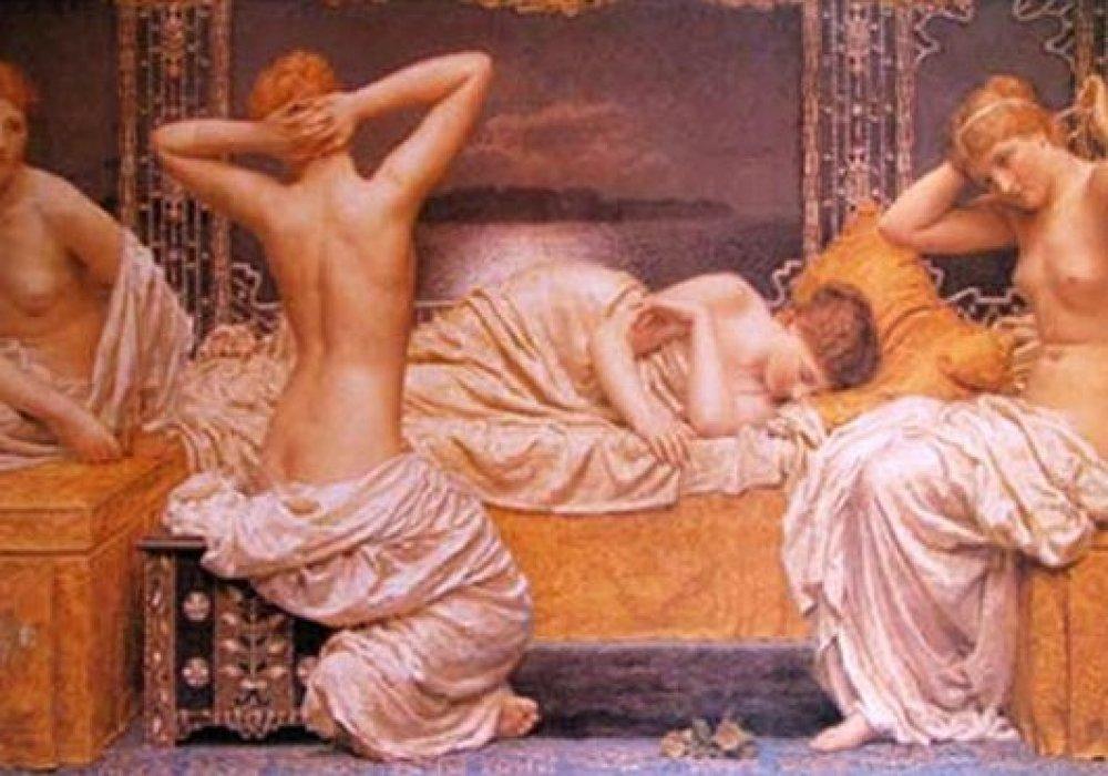 Развратные оргии в древнеримских термах порно