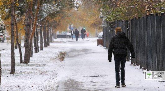 Похолодание ожидается вКазахстане вближайшие три дня