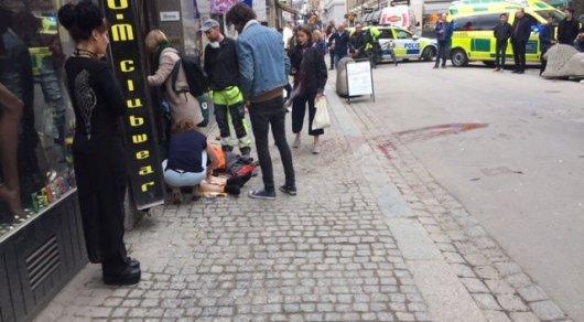Теракт в Стокгольме: подозреваемый задержан