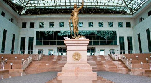 Здание Верховного Суда. Фото Tengrinews.kz