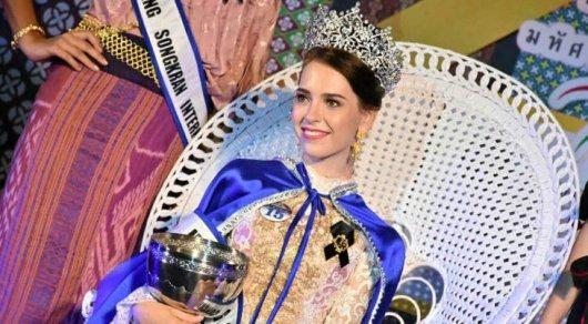 Казахстанка выиграла конкурс красоты в Таиланде