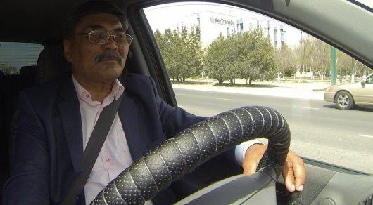 Заботливый таксист из Актау рассказал о своей работе