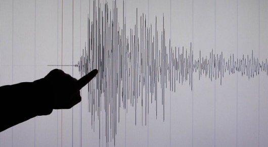 Два землетрясения произошли близ Алма-Аты