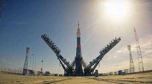 С космодрома Байконур стартовал транспортный пилотируемый корабль