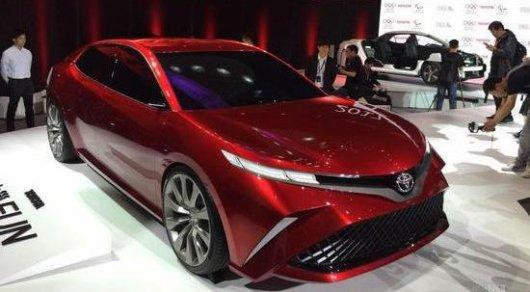 Toyota показала новую Camry для казахстанского рынка