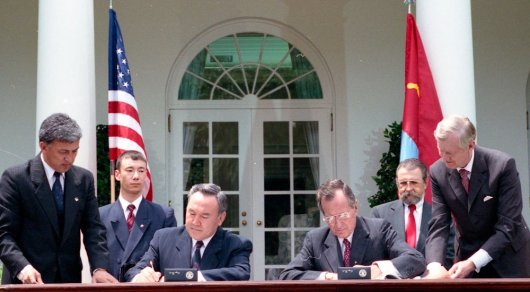 Первый министр иностранных дел РК рассказал о триумфе Назарбаева в Вашингтоне