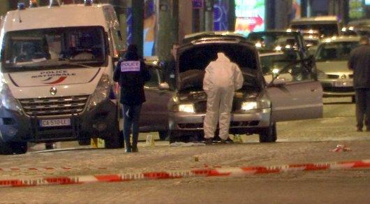 Подозреваемый в причастности к теракту в Париже явился в полицию