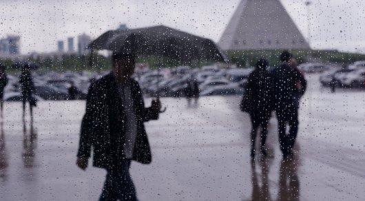 Дождливые выходные ожидаются в Казахстане