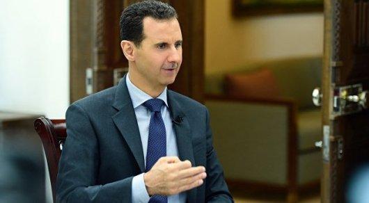 Асад поддержал предложение Казахстана расширить число участников переговоров в Астане