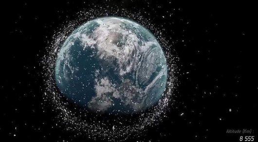 Наорбите Земли ученые насчитали 150 млн фрагментов космического мусора