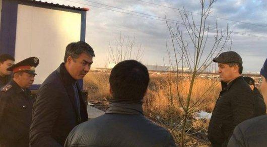 Исекешев в6 утра посетил объекты столицы после критики Президента