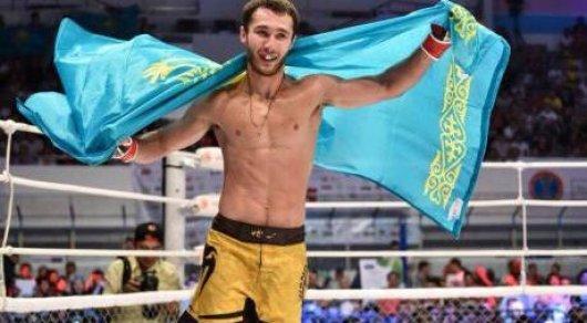Казахстанский боец победил бразильца на турнире M-1 Challenge 76