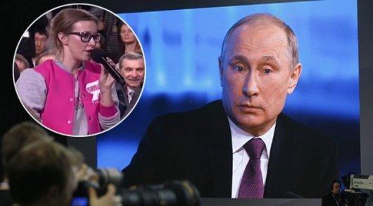 Собчак призывает Владимира Путина убрать «повестку» осекс-меньшинствах