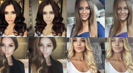 Как выглядят красотки из соцсетей без макияжа