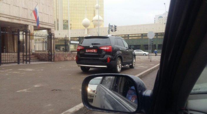 Водителя авто с дипномерами нельзя привлечь к ответственности - МИД РК