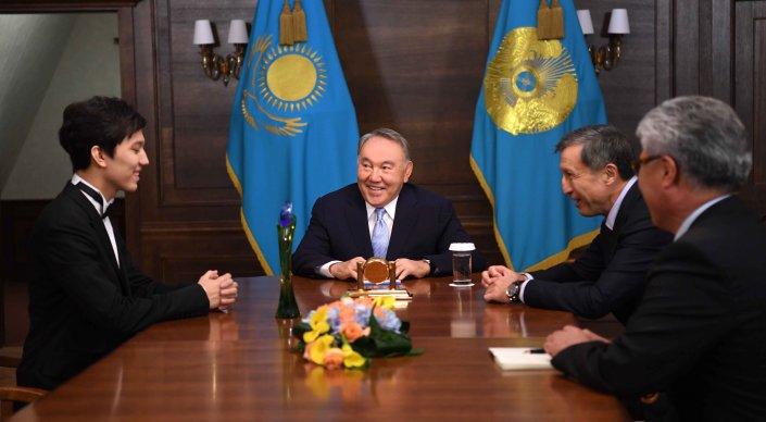 Димаш Кудайберген рассказал о своей мечте Назарбаеву