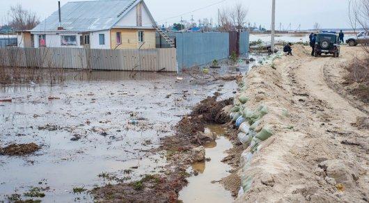 Неменее 170 домов остаются подтоплеными вКызылжарском районе СКО