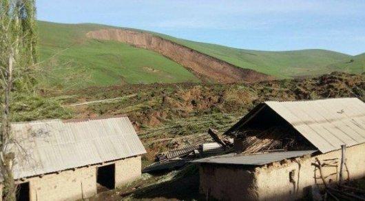 Оказавшиеся под оползнем на юге Кыргызстана 24 человека погибли - МЧС