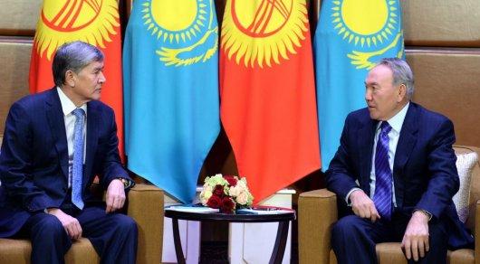 Нурсултан Назарбаев выразил соболезнования президенту Кыргызстана
