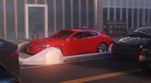 Илон Маск впервые показал, как будет работать тоннель под Лос-Анджелесом