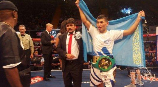Казахстанский боксер Бекман Сойлыбаев завоевал пояс WBC International