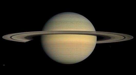 Станция Cassini записала звуки Сатурна