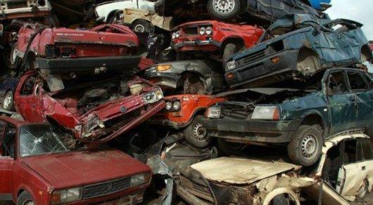 Казахстанцы сдали на утилизацию более 14 тысяч старых автомобилей