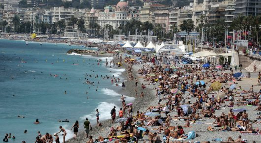 Бомбу весом 250 килограммов обнаружили в море около Ниццы