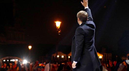 Президентом Франции избран 39-летний Эммануэль Макрон