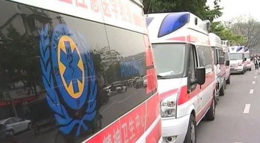 В КНР взагоревшемся автобусе погибли 11 детей