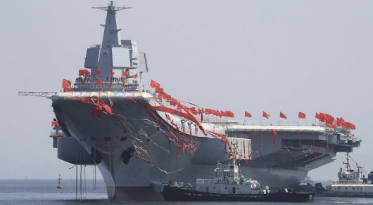 Китайцы хотят назвать свой первый авианосец именем