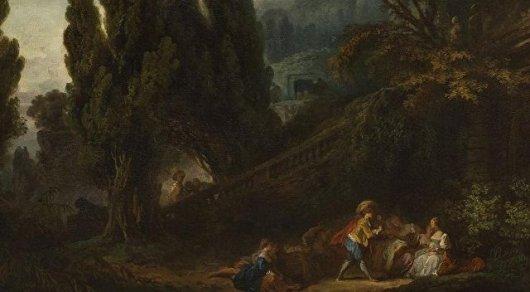 Картины известного французского художника найдены спустя 200 лет