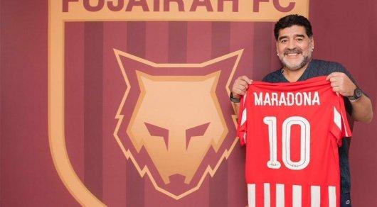 Диего Марадона: Мне предлагали работу в Казахстане