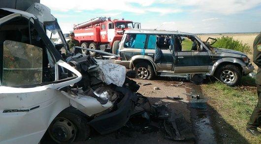 Еще одно жуткое ДТП со смертельным исходом произошло в Карагандинской области