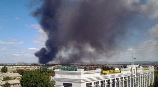 Пожар на усть-каменогорской ТЭЦ ликвидировали