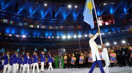 Француз купил флаг РК на Олимпиаде и хочет выставить его на аукцион