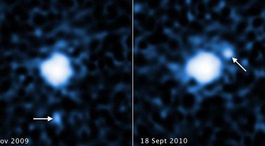 Луну у крупнейшей безымянной планеты Солнечной системы обнаружил