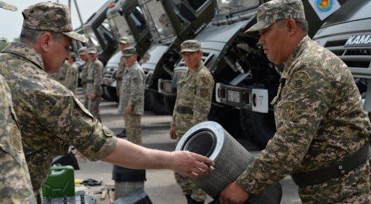 Руководство Минобороны РК проверило готовность гарнизонов к летнему обучению