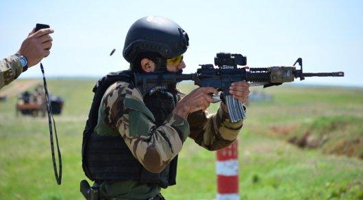 В Казахстане начались международные соревнования разведчиков спецназа