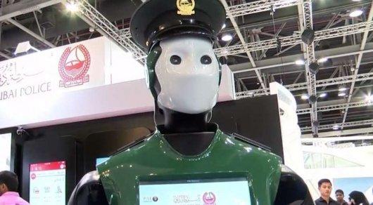 Первый в мире робот-полицейский заступил на службу