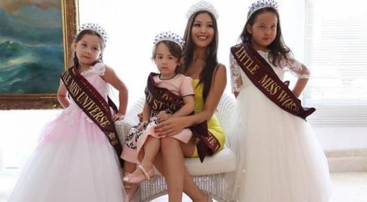 Юные казахстанцы стали призерами международного конкурса красоты в Турции