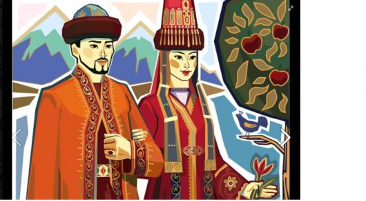 Карикатурист Мурат Дильманов нарисовал эскиз мозаики для ЗАГСа