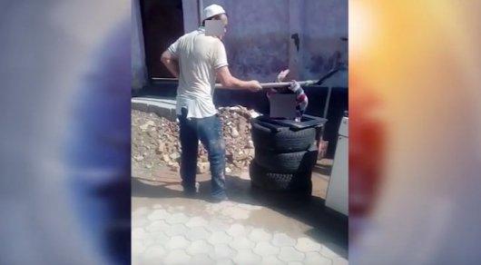 Жестокое истязание ребенка: В Шымкенте мужчина избил 4-летнего мальчика лопатой