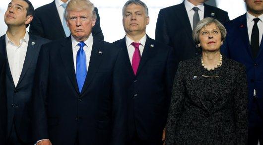 Трамп грубо оттолкнул премьер-министра Черногории на саммите НАТО