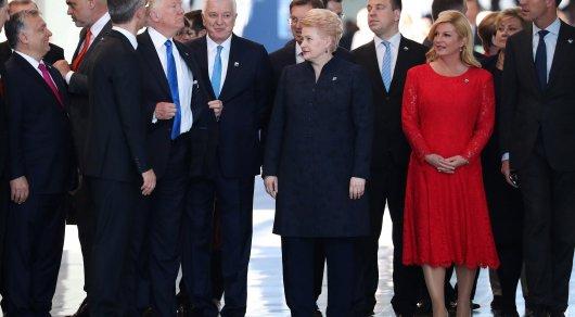 Белый дом объяснил толкотню Трампа с премьером Черногории